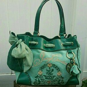 Juicy Couture Daydreamer Velour  Handbag